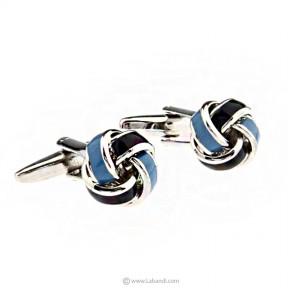 Metal Knots Cufflinks