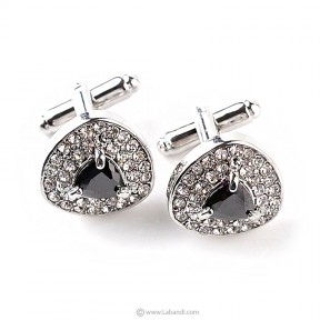 Luxury Crystal Cufflinks -...