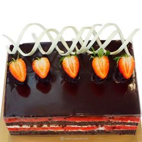 Kingsbury Chocolate & Red...