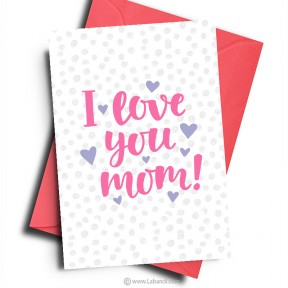 Card for MOM -13