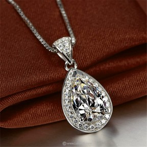 Water Drop Pendant with...