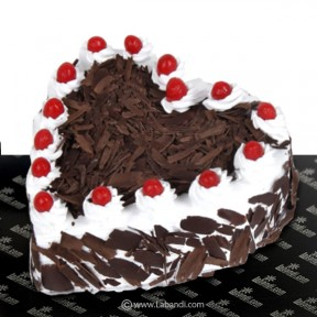 Lover's Black Forest Heart...