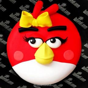 Angry Bird Cake - 2.2lb