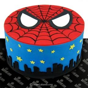 Spider Man Round Cake - 3.3lb