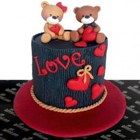 A Poetic Love Cake - 2.2lb...