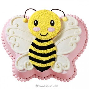 Beaming Bee Cake
