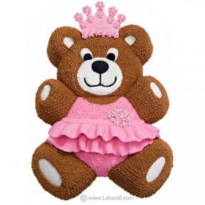 Bear Princess Cake - 4.2 lbs