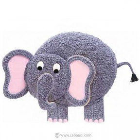 Elephant Cake - 3.8 lb (1.7Kg)
