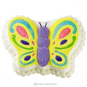 Glowing Butterfly Cake -...