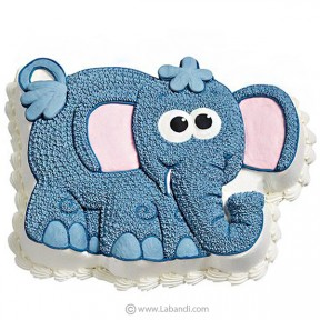 Infants Love Elephant Cake...