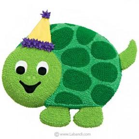 Tortoise Celebration Cake -...
