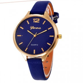 Faux Lady Dress Watch - BLUE