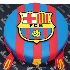 Soccer Lover Cake - 2.2lb...