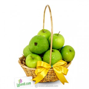 Basket of Guava & Green Apples