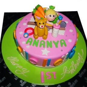 To My Toddler Girl Cake -...