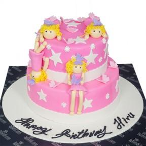 Pink Angels Cake - 7.8lb