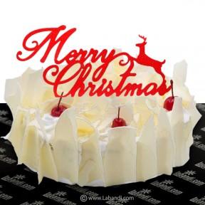 White Forest Cake - 2.2lb