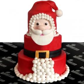 Christmas Santa Cake - 7.7lb