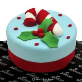 Christmas Candy Cane Cake -...