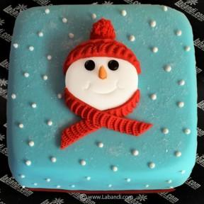 The Snowman Gift Cake - 2.2lb