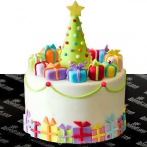 Christmas Celebration Cake...