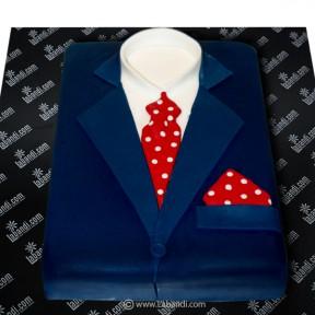 Mens Suit Cake - 4.4lb (2Kg)