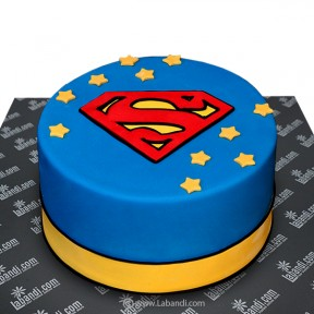 Super Man Cake - 3.3lb (1.5Kg)