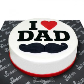 I Love DAD Cake - 2.2lb