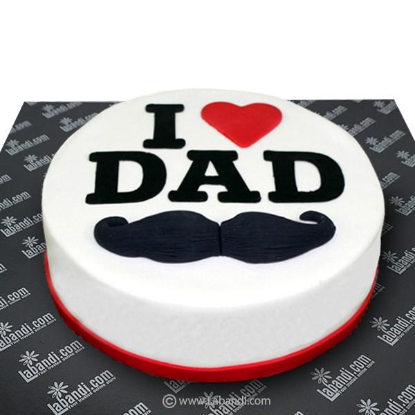 Prime I Love Dad Cake I Love Dad Cake Funny Birthday Cards Online Bapapcheapnameinfo