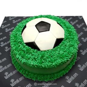 Soccer Ball Cake - 3.3lb...