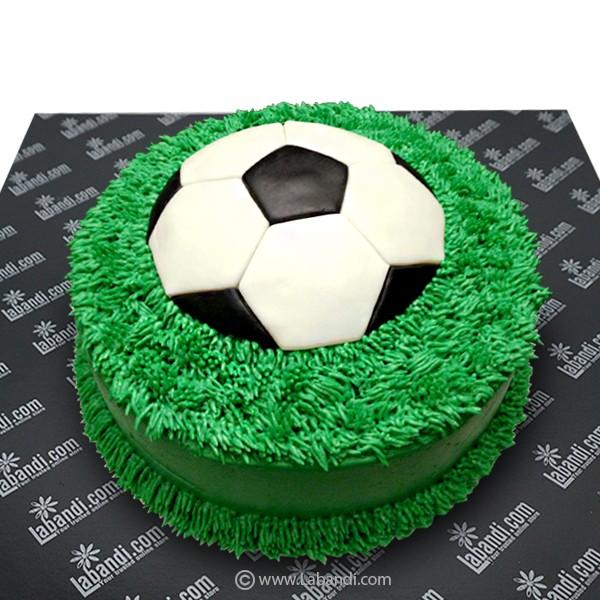 Marvelous Soccer Ball Cake 3 3Lb 1 5Kg Soccer Ball Cake 3 3Lb 1 5Kg Funny Birthday Cards Online Overcheapnameinfo