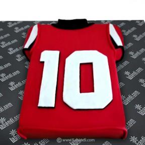 Soccer Shirt Cake - 4.4lb