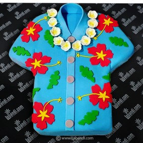 Hawaiian Shirt  Cake - 4.4lb