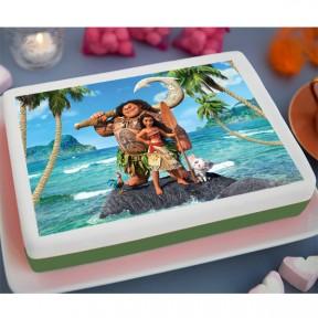 Moana Printed Cake (3.3lb)