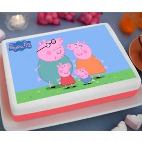 Peppa Pig Printed Cake...