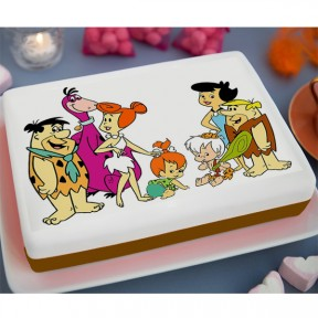 The Flintstones Printed...