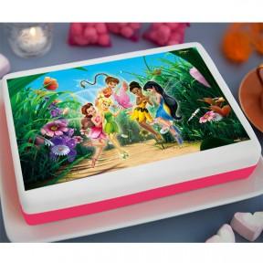 Tinker Bell Printed Cake...