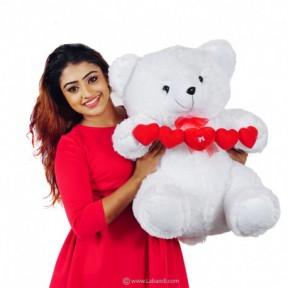 Chain of Love Hearts Bear -...