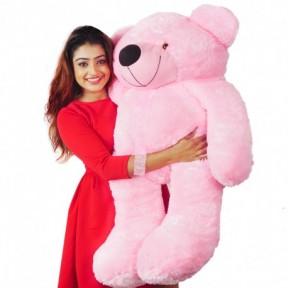 Jumbo Pink Bear - 3.5 Feet