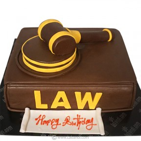 Specially for a Lawyer Cake...