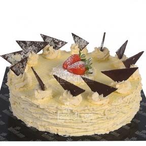 Vanilla Gateaux Cake -...