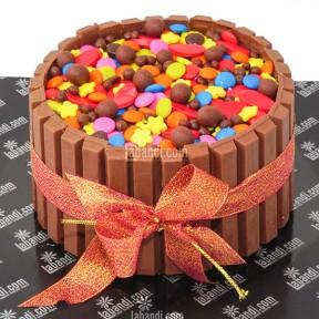 Candy Crush Round Cake