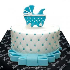 Baby Cart Cake (BLUE) - 3.3lb