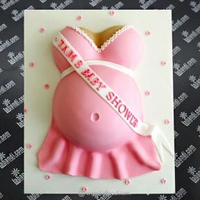 Baby Bump Cake (PINK) -...