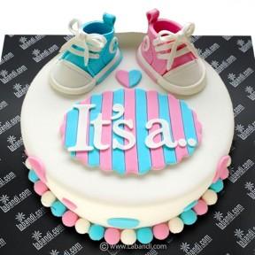 Joy of Twins Cake - 2.2lb