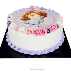 Sofia the First Cake - 1kg