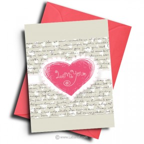 Love And Romance Card -06