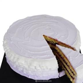 Blueberry Ruffle Cake - 1kg
