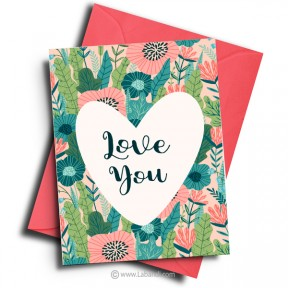 Love And Romance Card -18