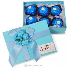 Box of Ferrero 6pcs (BLUE)